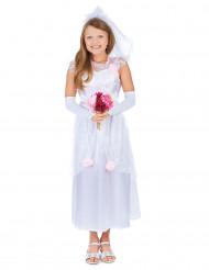 Déguisement jeune mariée enfant fille
