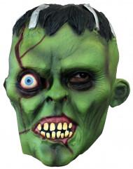 Masque monstre vert borgne adulte Halloween