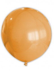 Ballon géant orange 80 cm