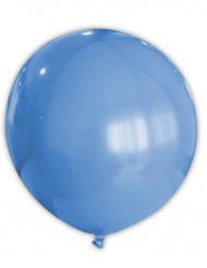 Ballon géant bleu 80 cm