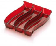 Plateau trio rouge