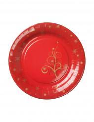 Assiette plate Fashion Sapin