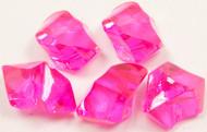 Pierres effet cristal fuchsia