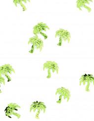Confettis de table forme palmier menthe