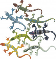 8 Lézard miniatures