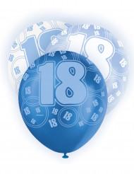 Ballons bleus Age 18 ans