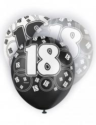 Ballons gris 18 ans