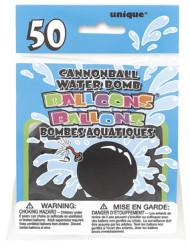 Ballons noirs bombe à eau