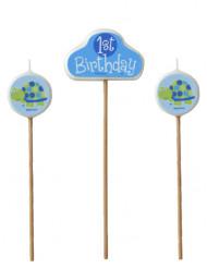 3 Bougies First birthday