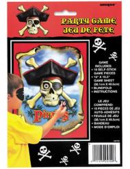 Jeu de fête Pirate Tête de Mort