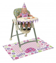 Kit First birthday pour chaise haute