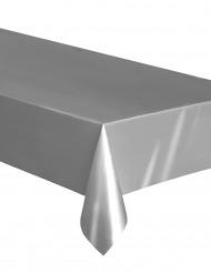 Nappe rectangulaire en plastique argent