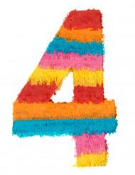 Pinata du chiffre 4