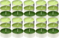 30 bougies chauffe-plat senteur pomme