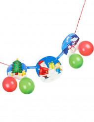 Guirlande Père Noël et cadeau