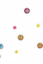 1 Guirlande fil Joyeux Anniversaire 10 mètres multicolores