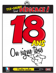 T-shirt Age 18 ans