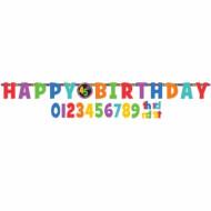 Guirlande articulée Happy Birthday