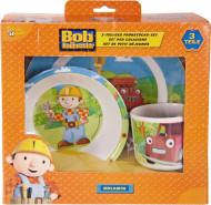 Coffret vaisselle mélamine Bob Le Bricoleur™