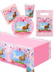Kit d'anniversaire mon cheval 25 pièces