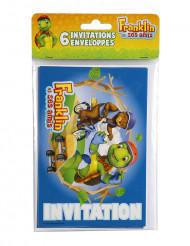 6 cartes d'invitation avec enveloppes Franklin™