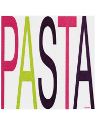 20 Serviettes en intissé Pasta 40 x 40 cm