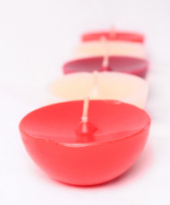 5 Bougies flottantes parfumées