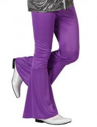 Pantalon homme disco violet
