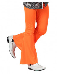 Pantalon homme disco orange