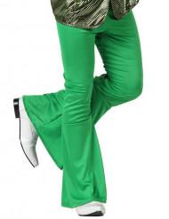 Pantalon homme disco vert