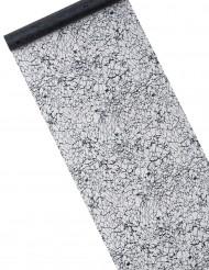 Chemin de table cristaux noir 5 m