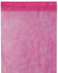 Chemin de table diamants fuchsia 5 m