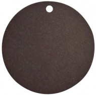 10 Marque-places carton noir