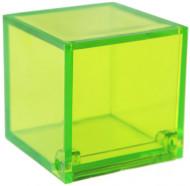 4 Boîtes cube verte