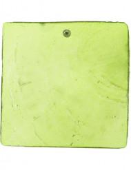 6 Marque-places carré vert