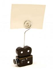 1 marque-place bobine de cinéma 4 cm x 1,8 cm x 10,3 cm