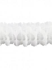 Guirlande papier blanche 15cm x 4m