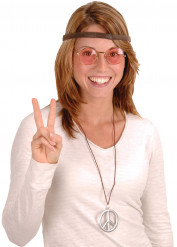 Kit hippie 3 accessoires adulte
