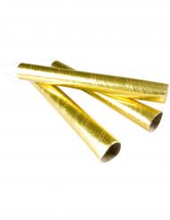 10 sarbacanes dorées