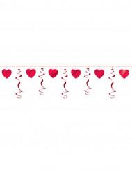Guirlande coeurs Saint Valentin