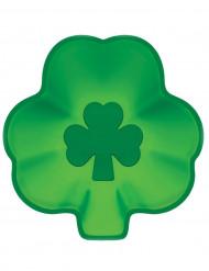 8 Assiettes en carton trèfle Saint Patrick 23 cm