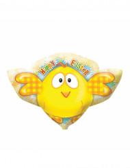 Ballon aluminium poussin Pâques