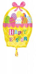 Ballon aluminium panier de Pâques