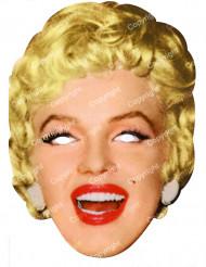 Masque carton Marilyn Monroe