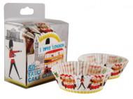 60 moules papier cupcake