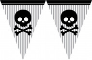 Guirlande papier Pirate Party