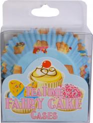 60 moules papier cupcake motifs cake