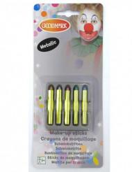 6 Crayons maquillage scintillant
