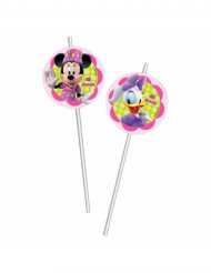 6 pailles plastique Minnie Bow-Tique™