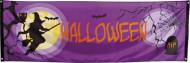 Drapeau violet Halloween